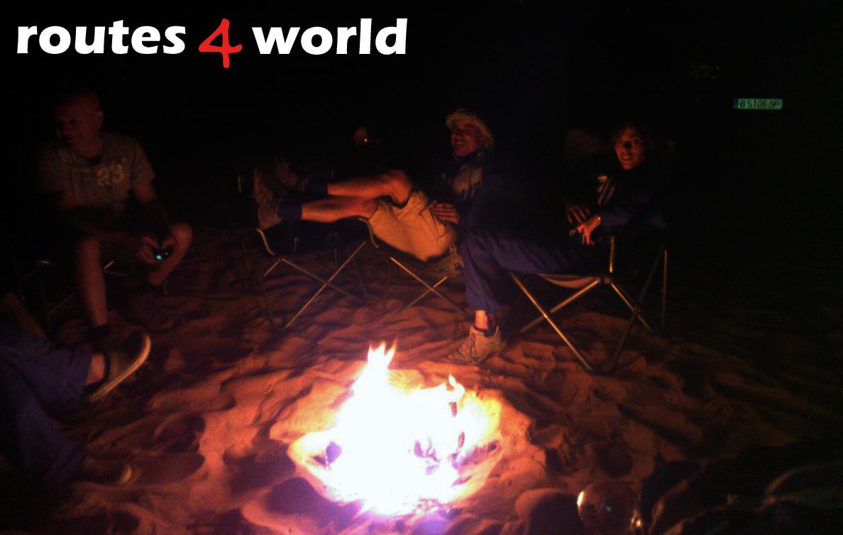 Tunez R4W acampada