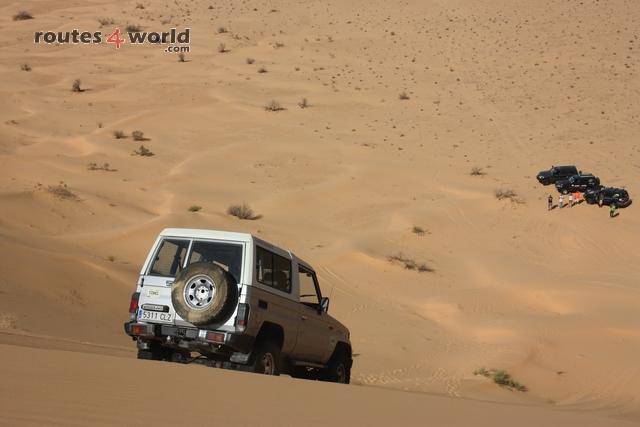 Tunez R4W dunas 1