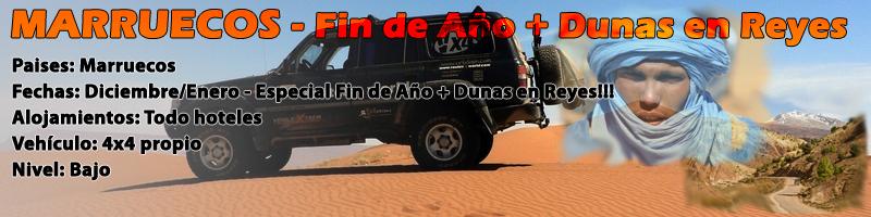 Viaje Marruecos 4x4 Fin de Año