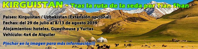 Viaje Kirguistan 2019