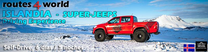 VIAJE ISLANDIA SELF DRIVE – 6 días  – Super-Jeeps                       Winter Experience