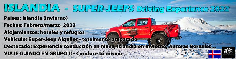 Viaje Islandia Super-Jeeps