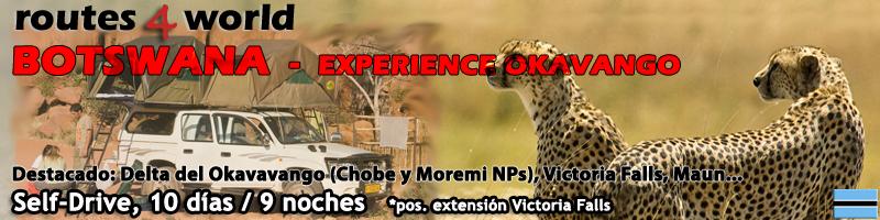 VIAJE BOTSWANA SELF DRIVE – 10 días  – Okavango Experience + Victoria Falls