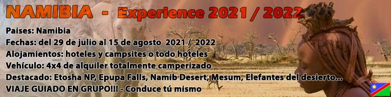 Viaje Namibia 4x4
