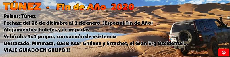 Viaje Túnez 4x4 Dunas Experience Fin de Año 2020