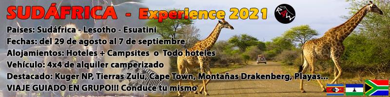 Viaje Sudafrica Experience