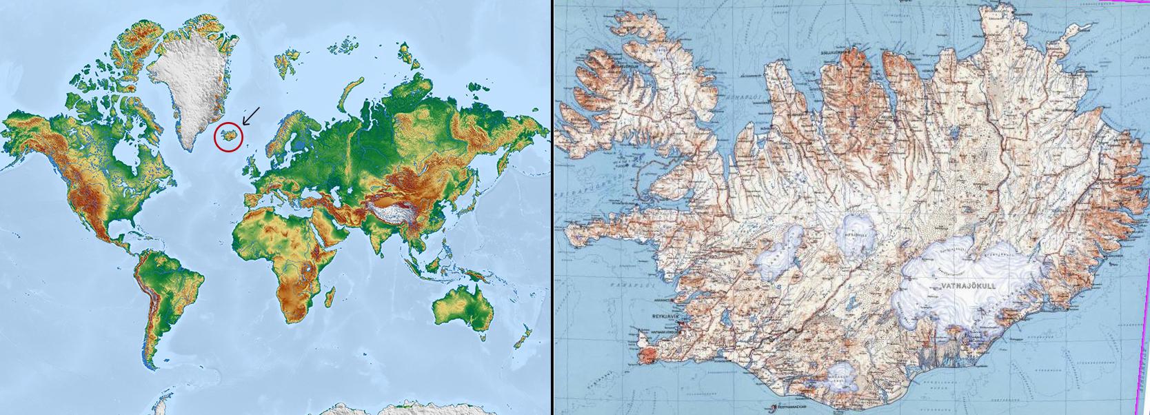 Mapa Mundi + Islandia web-R4W