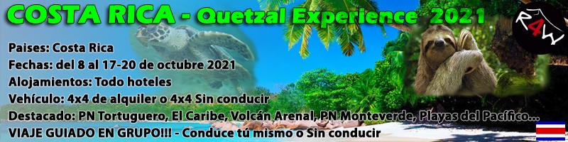 VIAJE COSTA RICA – Octubre 2021