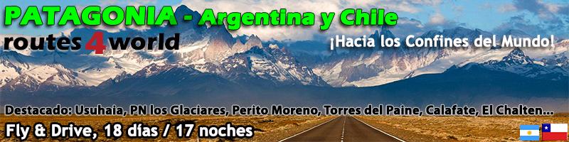 Viaje Patagonia Fly & Drive 18 días