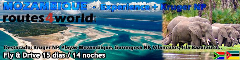 Viaje Mozambique 15 dias