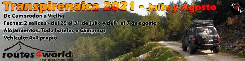 TRANSPIRENAICA 4x4 - de Camprodon a Vielha 2021